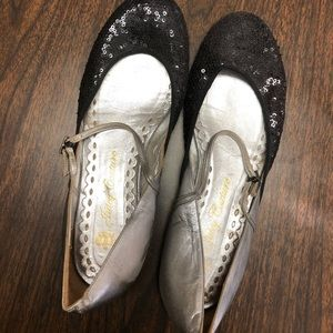 Juicy Couture Shoes - Juicy Couture Sequin Mary Janes Size 40